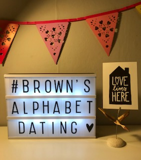 Browns Alphabet Dating 2