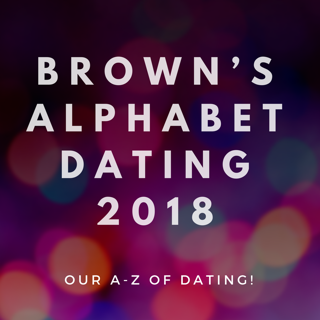 Browns Alphabet Dating 2018