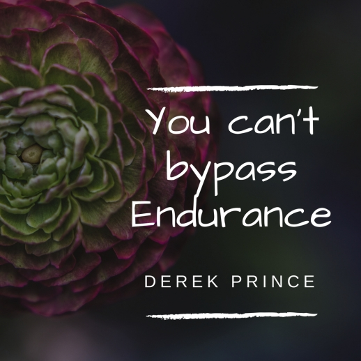 You can't bypass endurance